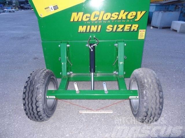McCloskey Minisizer, 2012, Sorteringsverk
