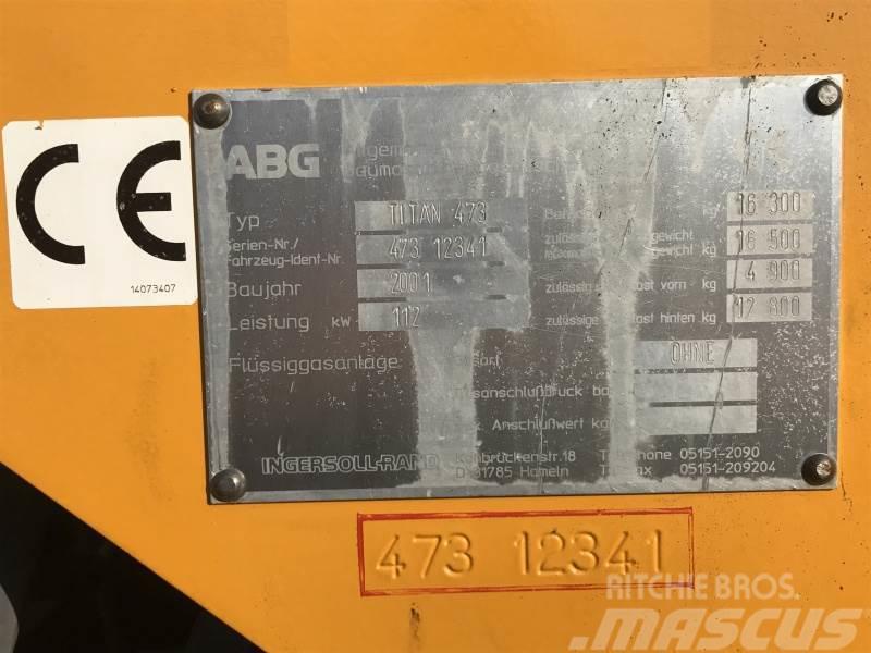 ABG-Volvo Titan 473-1, 2001, Asfaltsläggningsmaskiner