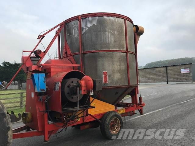 Master 9 Ton Mobile Grain Dryer