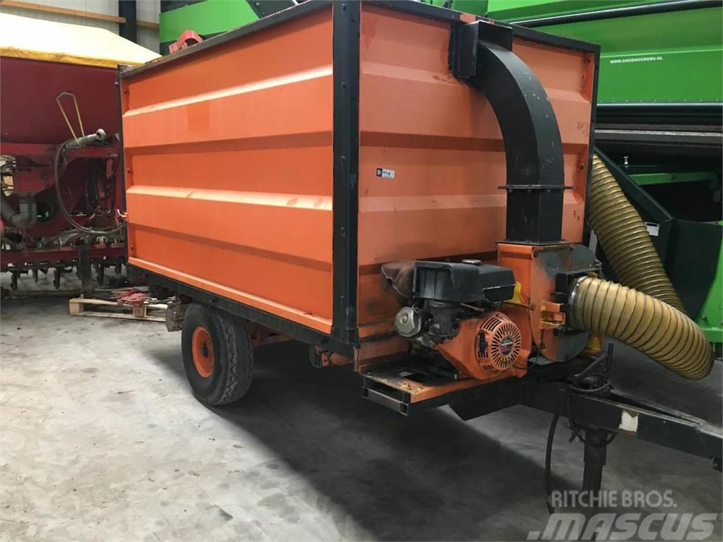 [Other] zuigwagen met motor en waaier