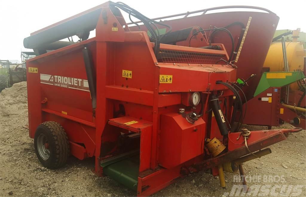 Trioliet UKW 5000 uitkuilwagen