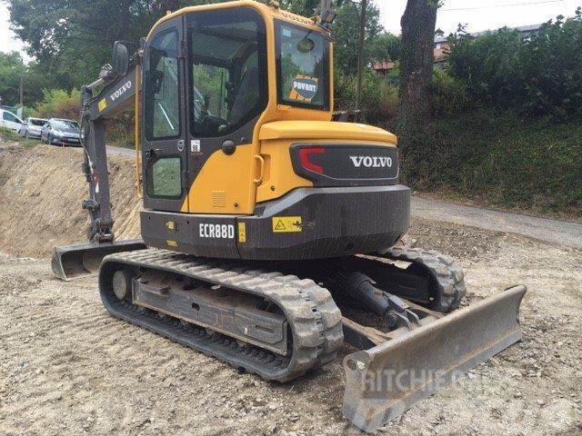 Used Volvo Ecr88d Mini Excavators 7t 12t Year 2014