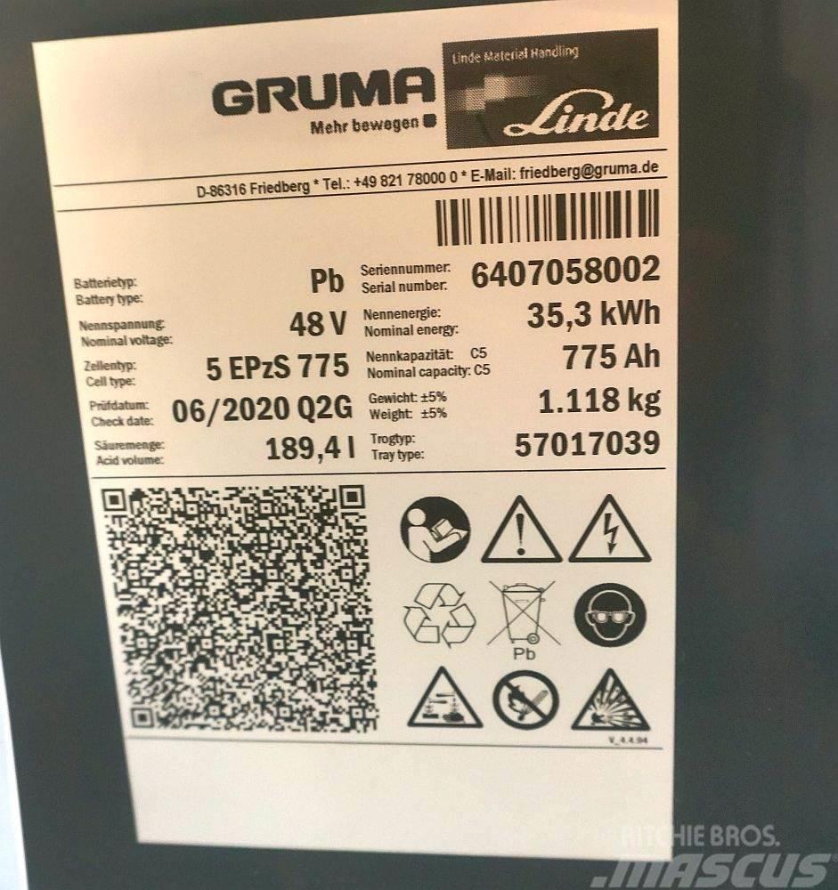 Gruma 48 V 5 PzS 775 Ah