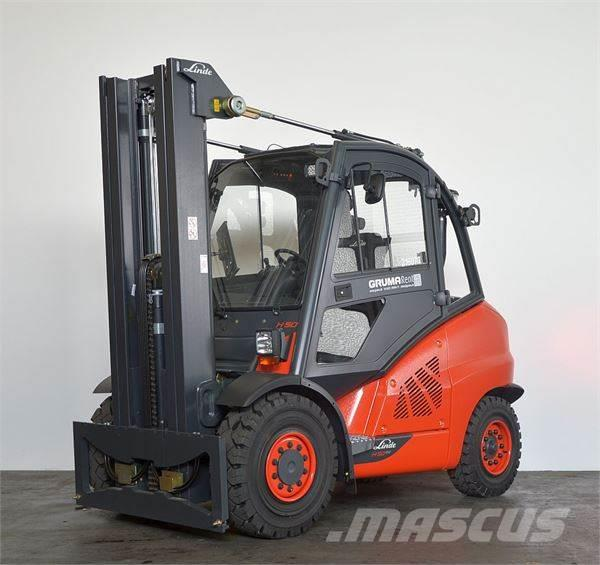 used linde h 50 d 394 02 evo diesel forklifts year 2016 price 67 181 for sale mascus usa. Black Bedroom Furniture Sets. Home Design Ideas