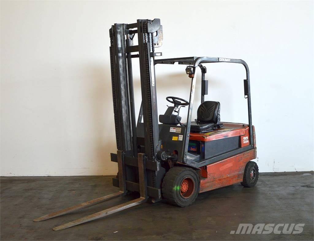 Used nissan gq02l30cu electric forklift trucks year 2001 for Electric forklift motor for sale