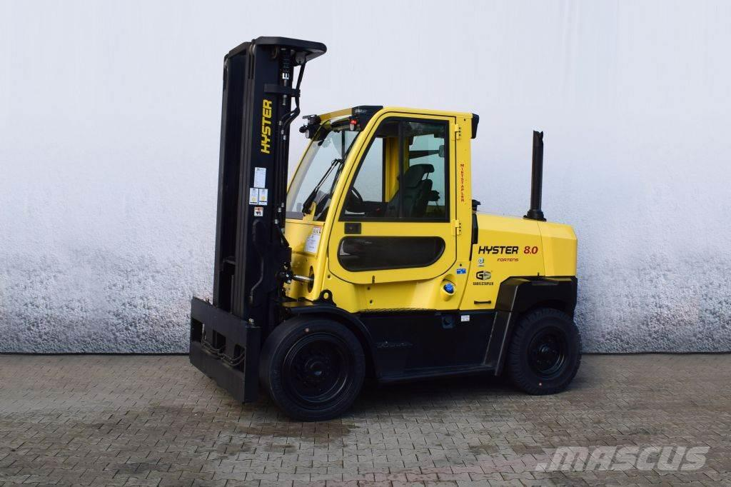 Hyster H 8.00 FT S D