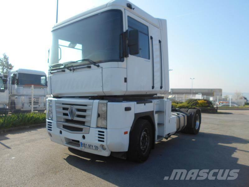 renault magnum 480 occasion limay ann e d 39 immatriculation 2002 tracteur routier renault. Black Bedroom Furniture Sets. Home Design Ideas