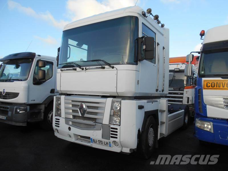 renault magnum 480 dxi occasion limay ann e d 39 immatriculation 2005 tracteur routier renault. Black Bedroom Furniture Sets. Home Design Ideas