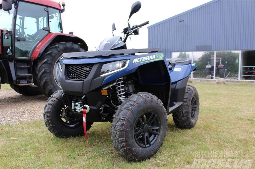 Arctic Cat 700i XT EFT 4x4 Med Traktor nummerplader