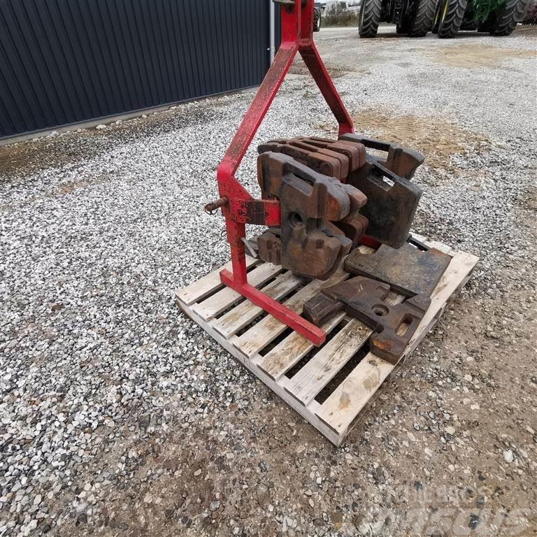 He-Va Med 400kg frontvægte