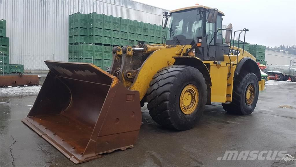 Caterpillar 980 H mit Schaufel/Bucket 3,60m breit ca. 5,6m³