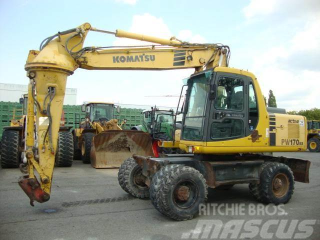 Komatsu PW 170 ES-6K Hammer/Greiferleitung