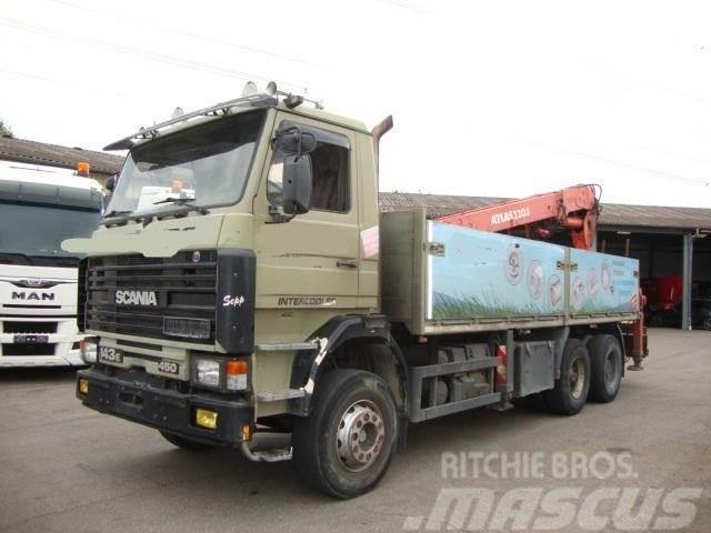 Scania 143E 450 V8 6x4 Retarder Atlas AK220.1