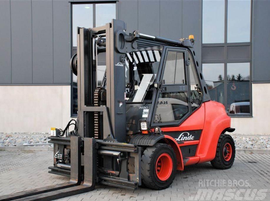 Atemberaubend Linde H80D-02/900 Diesel Stapler gebraucht kaufen und verkaufen @ST_33