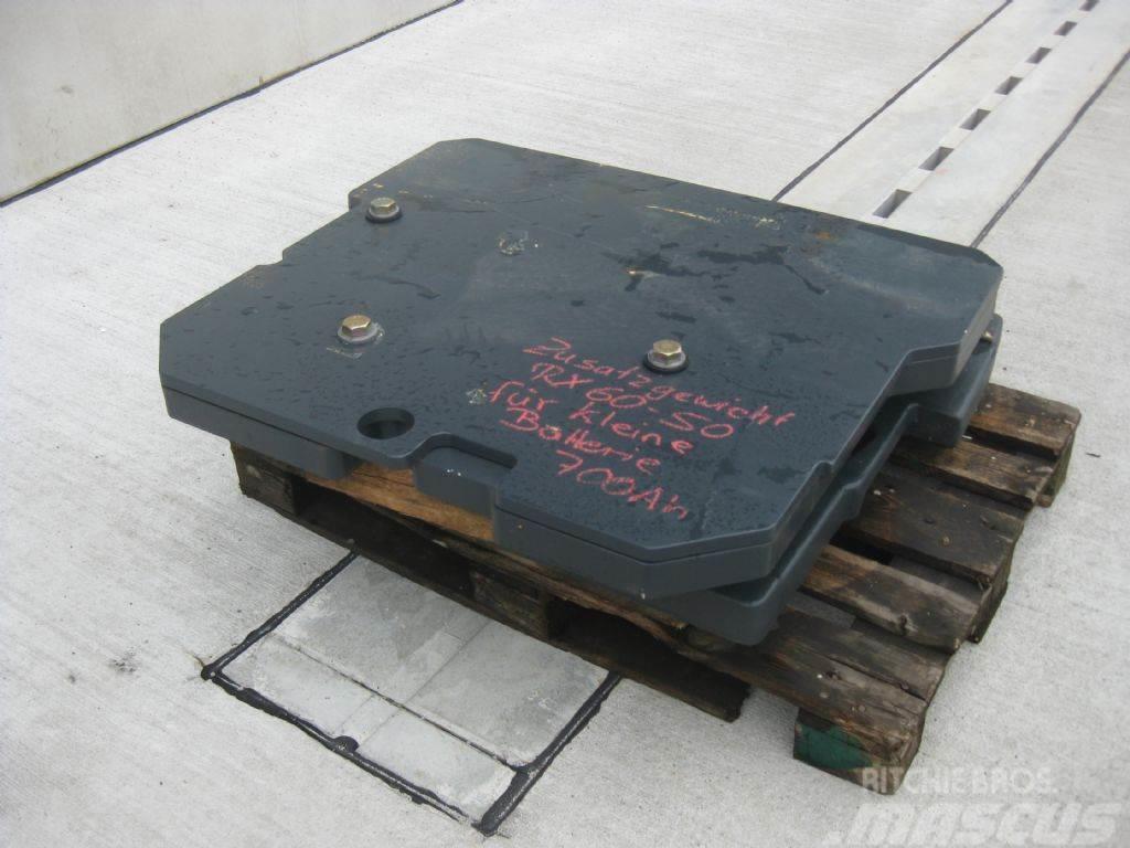 Still Zusatzgewicht, Einbaugewicht RX60 40/ 50
