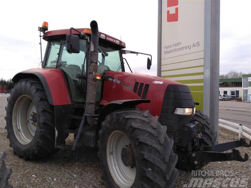 Case IH CVX 1190 Traktoren har frontlift