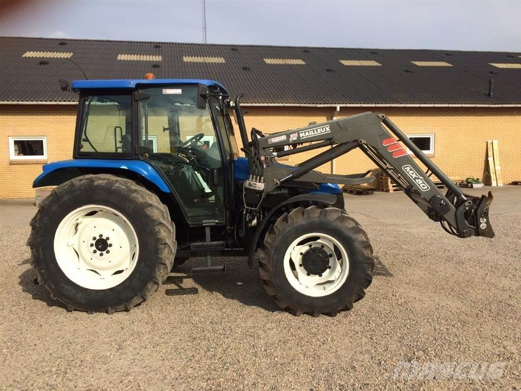 New Holland T L90 Mailleux Frontlæsser MX 80