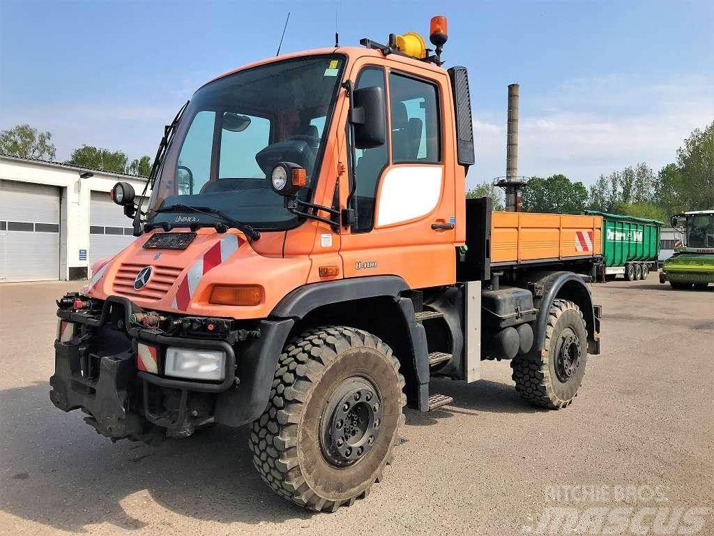 MB Trac U 400 / 3 Seiten Kipper / Hydr. front + heck Price: €39,000 ...