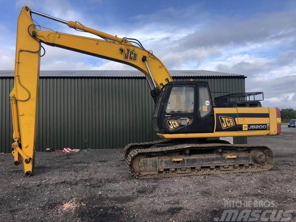 JCB JS200 LC 20 ton excavator