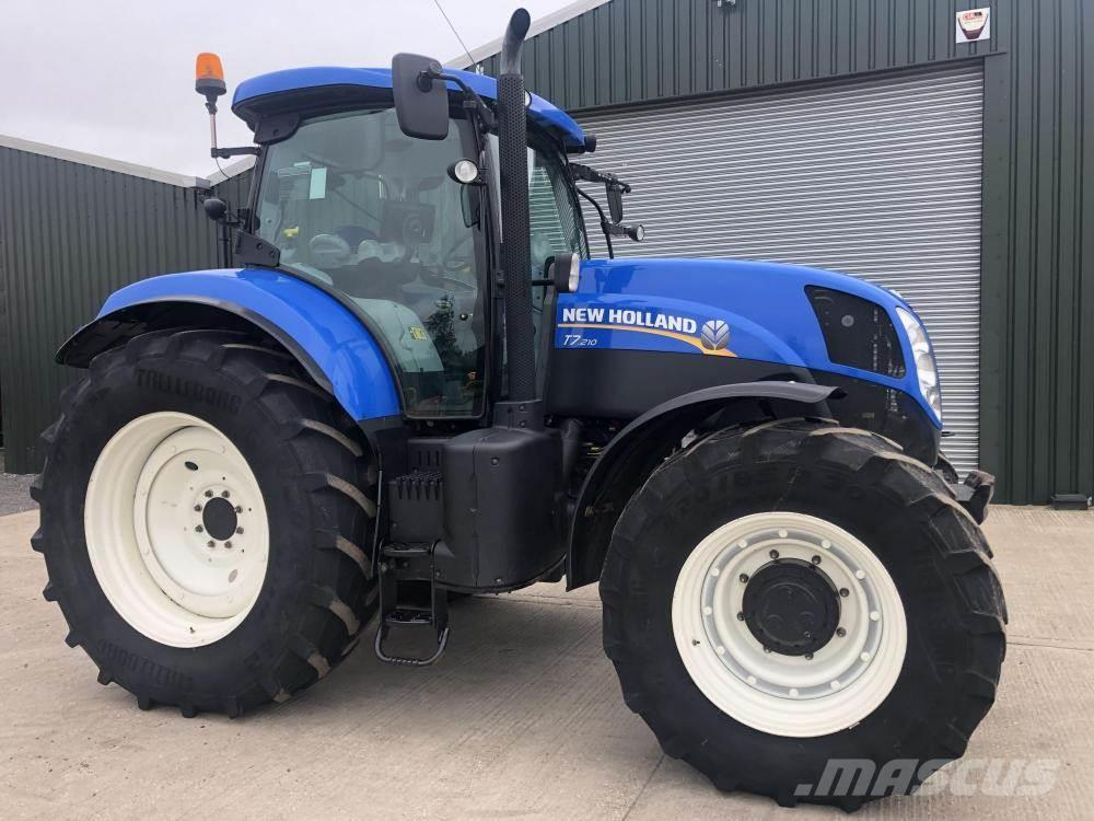 New Holland T.7210