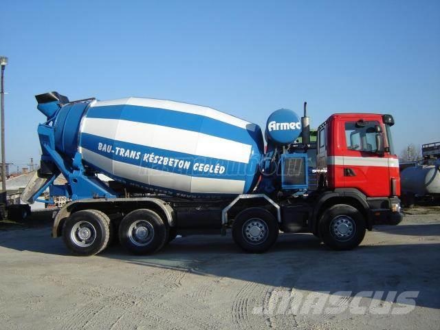 Scania 124 C 420 8x4