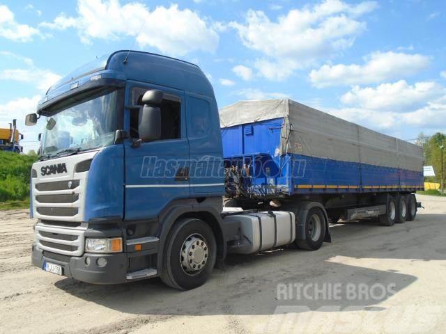 Scania G 410 Euro.6 Billentő hidraulika