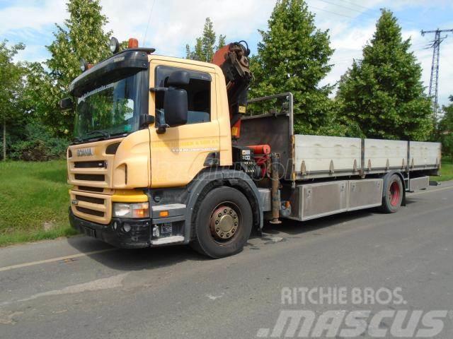 Scania P230 Palfinger PK 12502 Daruval