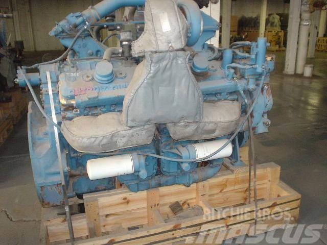 Detroit 12V92T, Motorer