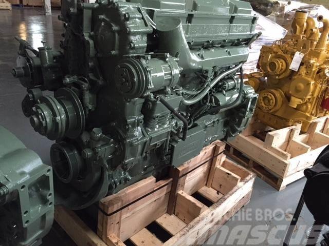 Detroit 60 SER 12.7, Motorer