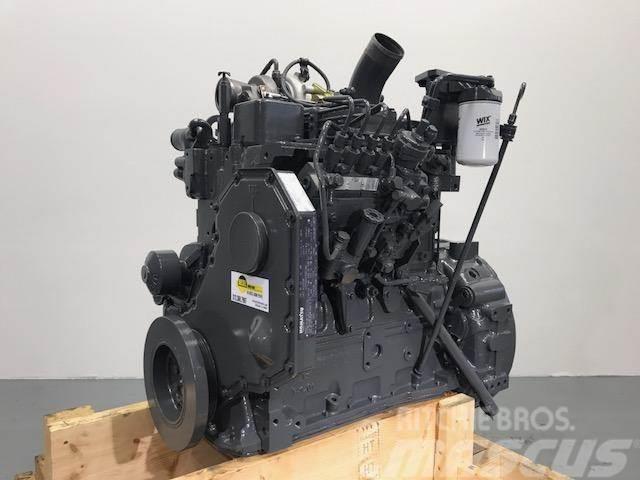 Komatsu SA4D102, Motorer