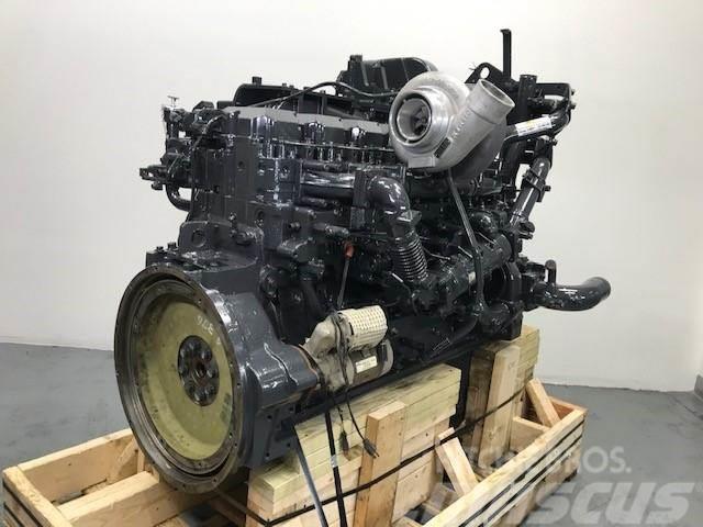 Komatsu SAA6D125E-5, Motorer