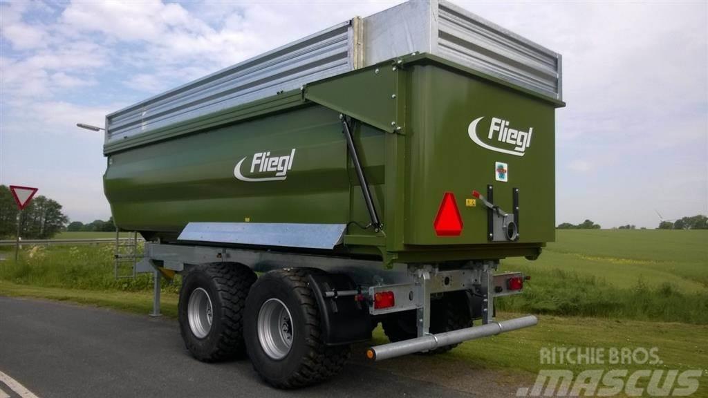 Fliegl >24m3 TMK 269 Profi bagtipsvogn Galvaniseret. Chas