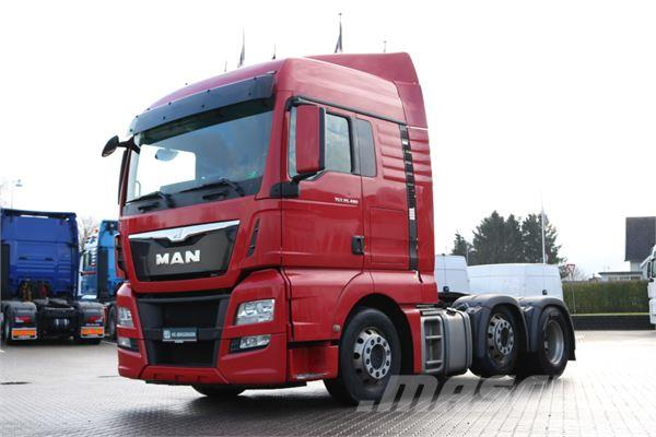 MAN TGX 26.480 6x2/2 XLX m. Hydraulik