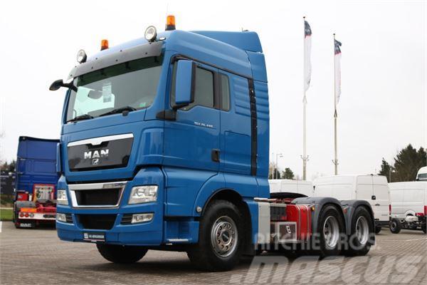 MAN TGX 26.480 6x4 XLX m. Hydraulik