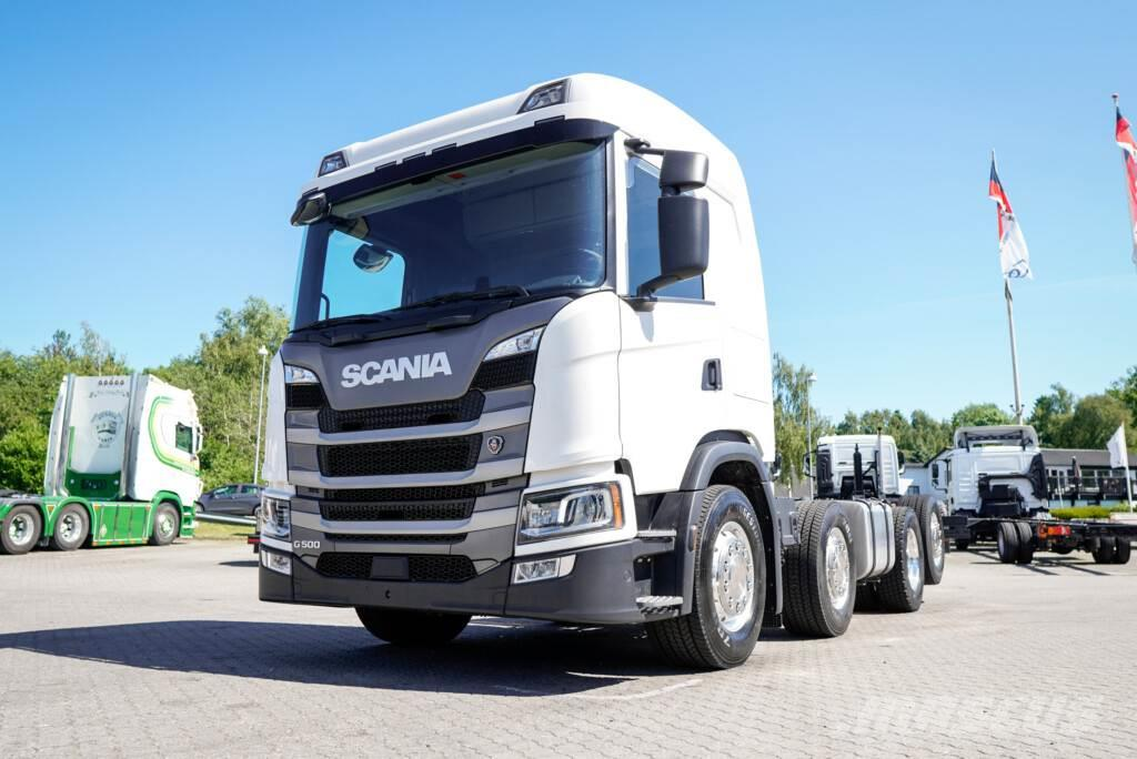 Scania G500 8x2*6 Chassis