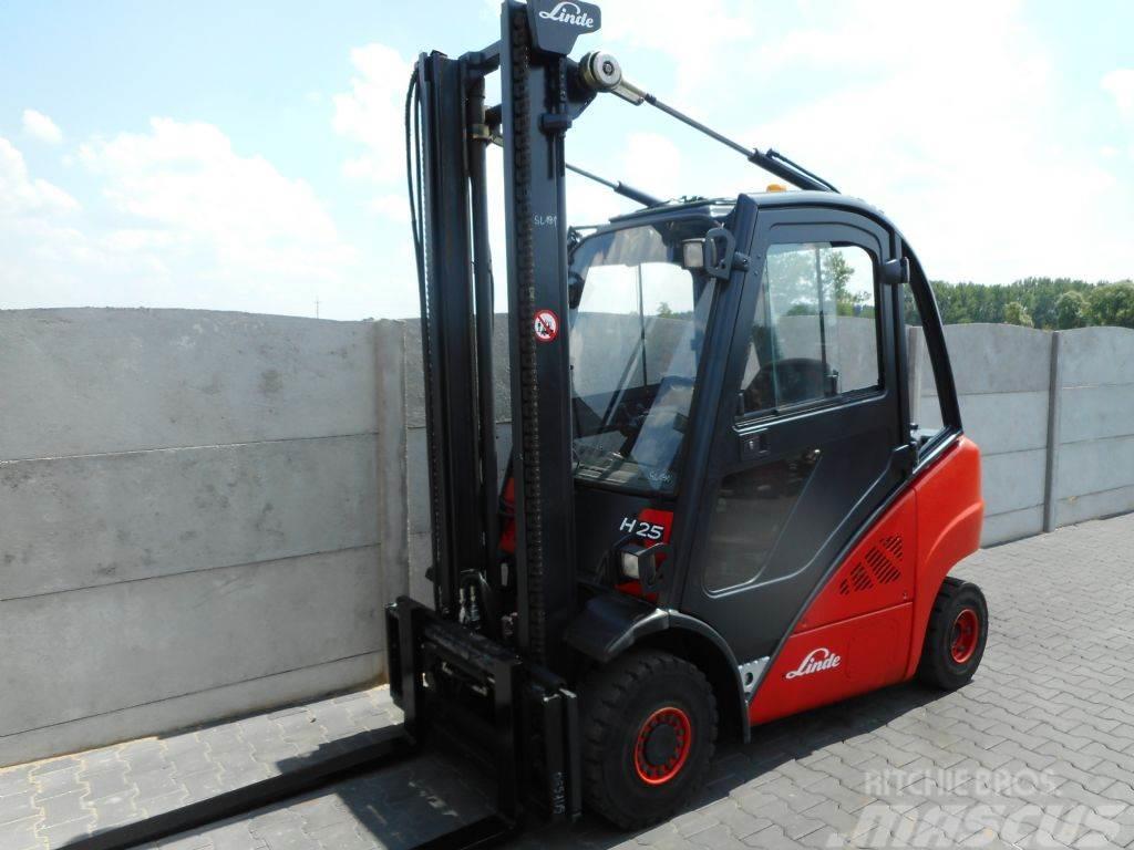 Gemeinsame Linde H25D Price: €9,000, 2009 - Diesel Forklifts - Mascus Ireland #QG_53