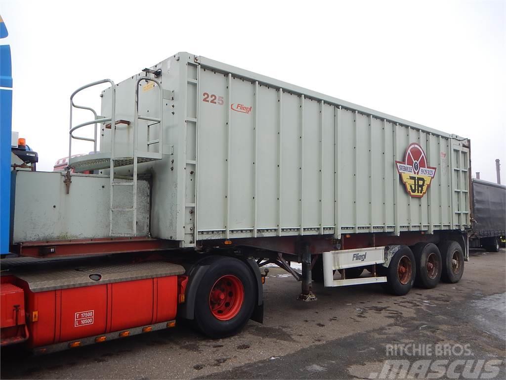 Fliegl push-off trailer 43 m3