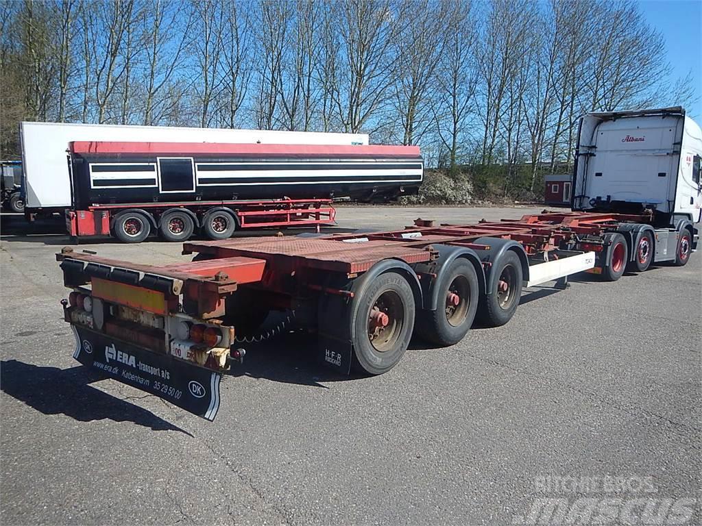 HFR Container chassis med udtræk
