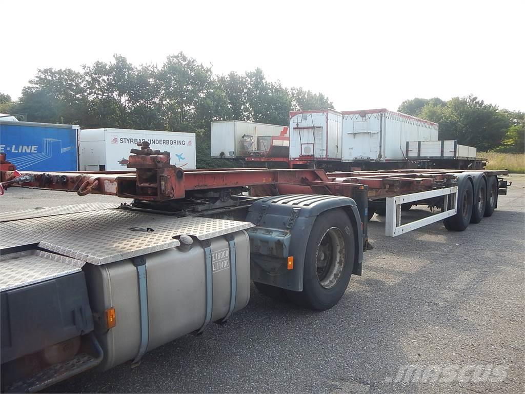 Krone Container chassis
