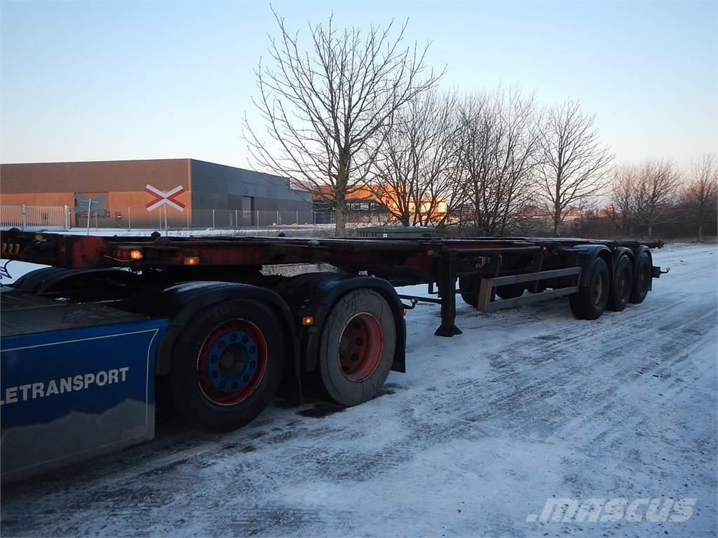 Orthaus container chassis