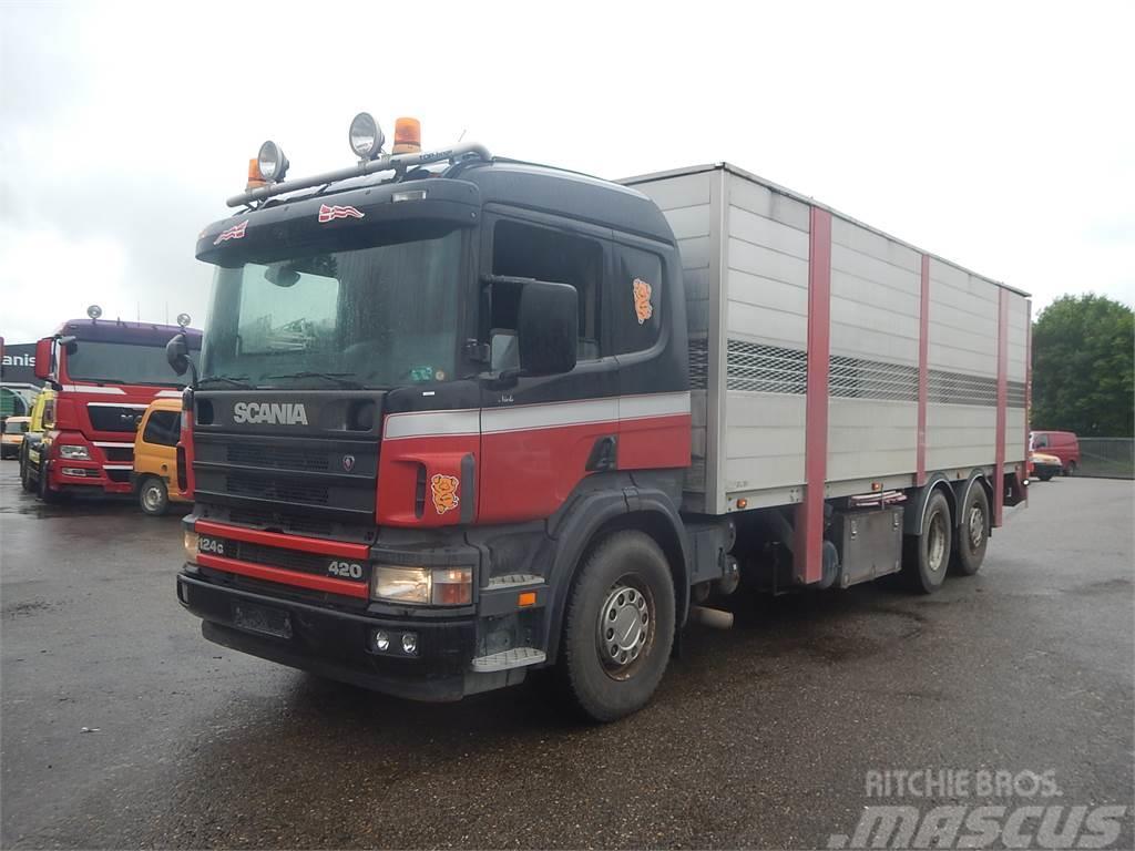 Scania 124 420 2- stock