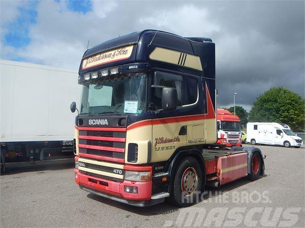 Scania 124 470 Retarder