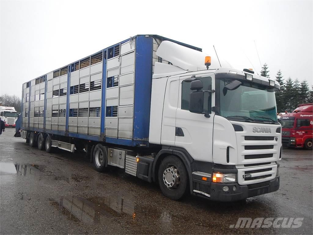 Scania G440 + Fliegl-Vandborg 3-stock