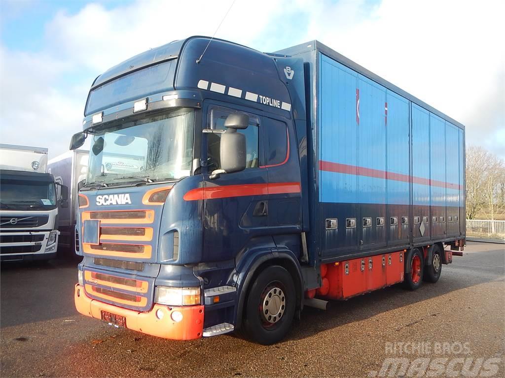 Scania R500 V8 Euro-5 Box
