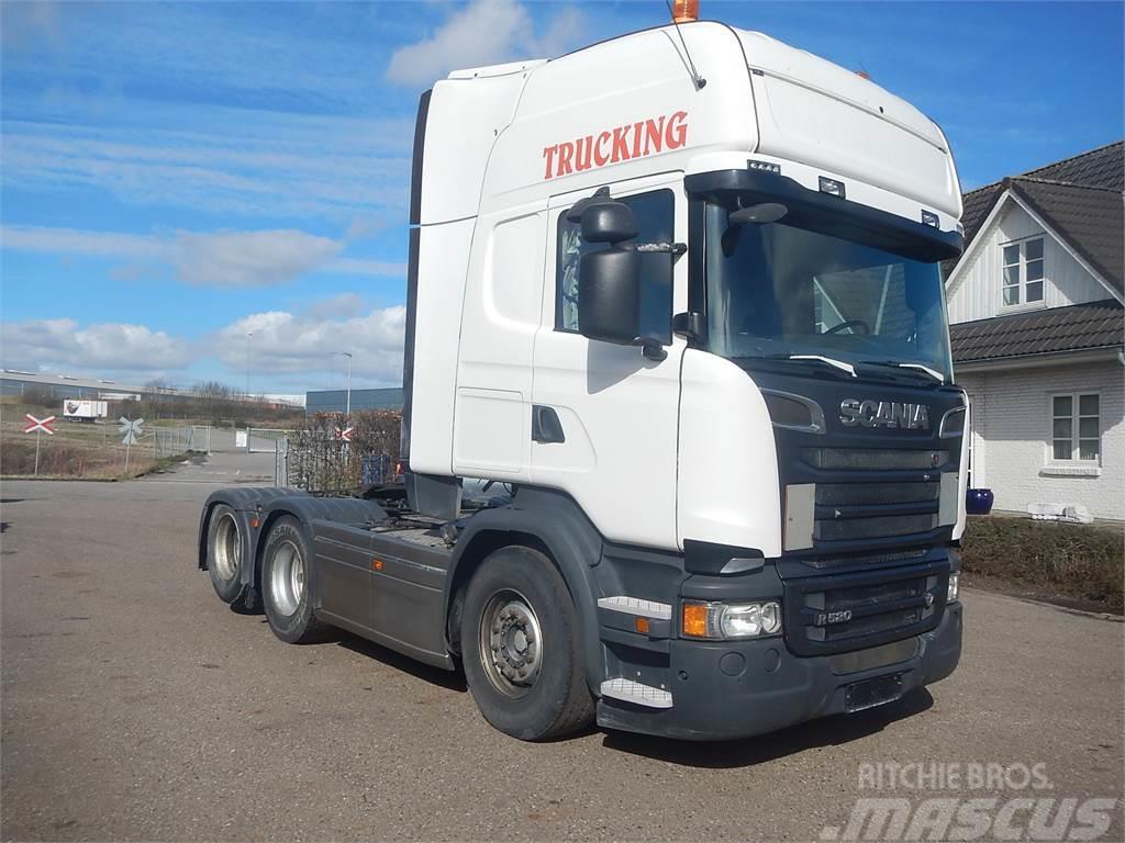 Scania R520 V8 Euro-6