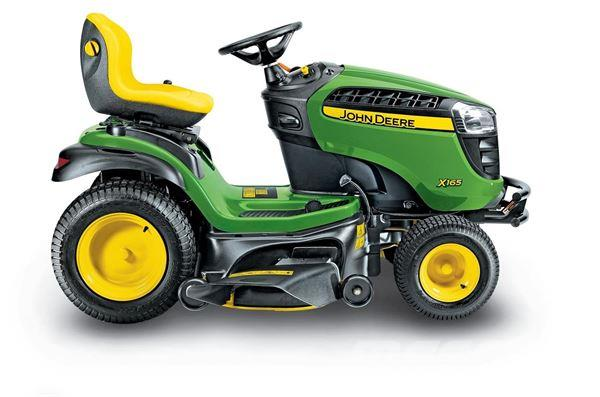 Used John Deere X165 HAVETRAKTOR compact tractors Price: $4,890 for sale - Mascus USA