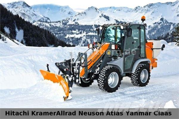 Winterdienst  Used Kramer 5035 Kramer ALLRAD Winterdienst Schild Streuer wheel ...