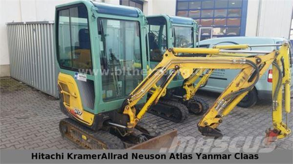 used yanmar sv17 mini excavators. Black Bedroom Furniture Sets. Home Design Ideas
