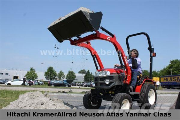 yanmar traktor gk200 mit frontlader gebrauchte traktoren. Black Bedroom Furniture Sets. Home Design Ideas
