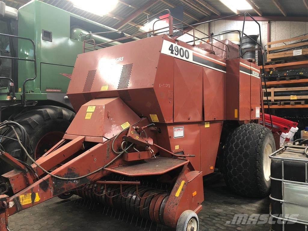 Hesston 4900 I PÆN STAND Høstklargjort til sæson